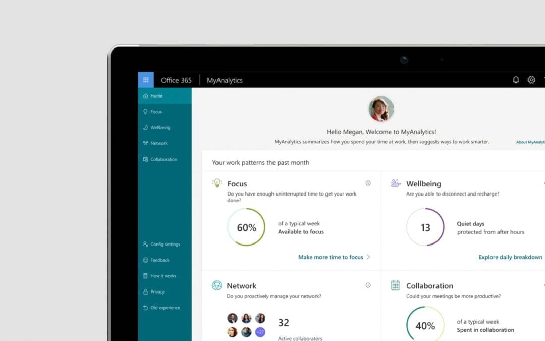 What is Microsoft Office 365 'MyAnalytics'?