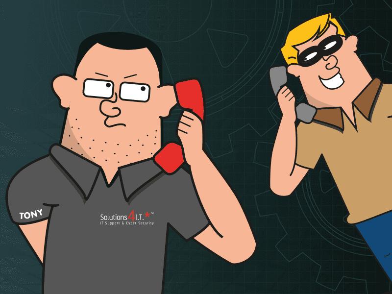 Cyber Aware Top Tip #6 – Voice Phishing