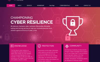 A Trusted Partner of The West Midlands Cyber Resilience Centre